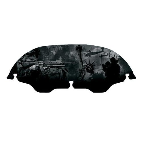 Discount Motorcycle Gear >> $119.99 Kuryakyn AirMaster Armed Forces Windshield For #949297