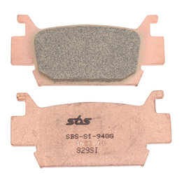 SBS ATV Off Road SI Sintered Brake Pads Single Set Honda TRX500 TRX700XX 829SI Unpainted