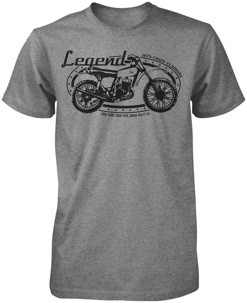 27 95 Honda Mens Cr125 Elsinore T Shirt 2013 196110