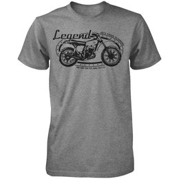 Heather Grey Honda Mens Cr125 Elsinore T-shirt 2013