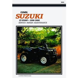 Clymer Repair Manual For Suzuki ATV LT-F500F 98-00