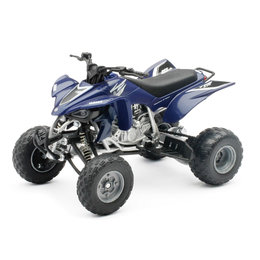 New Ray Toys 1:12 Scale Yamaha YFZ450 2008 ATV Toy Blue 42833A Blue