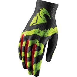 Thor Mens Void Rampant MX Gloves Green