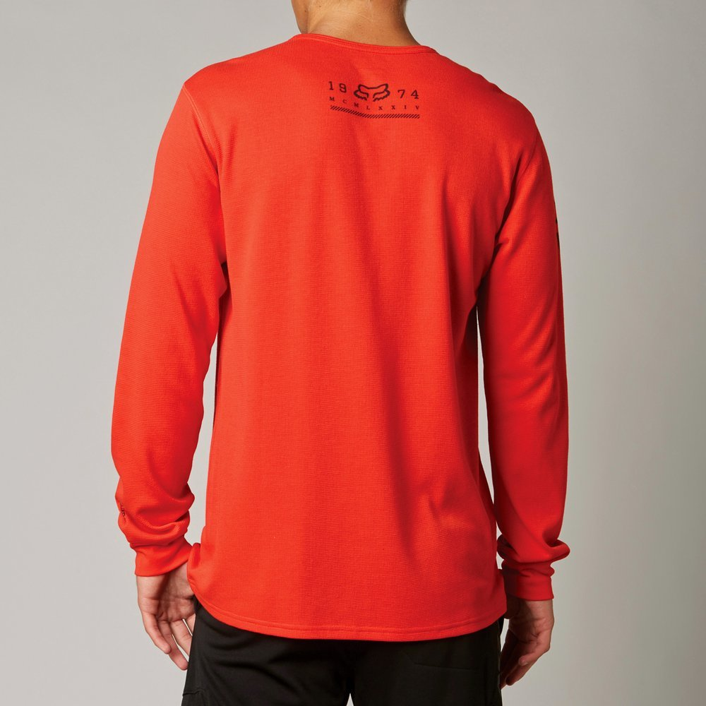 Fox racing mens reforge dri release long sleeve for Thermal t shirt long sleeve