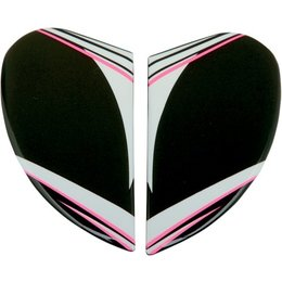 Pink Icon Replacement Side Plate Kit For Womens Airmada Salient Full Face Helmet