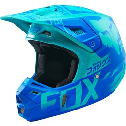 Fox Racing Limited Edition V2 Union DOT Helmet Blue
