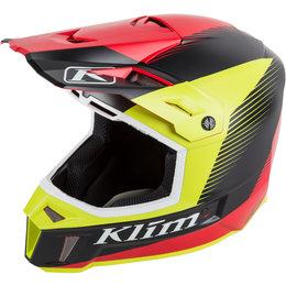 Klim F3 Ripper MX Offroad Helmet Red