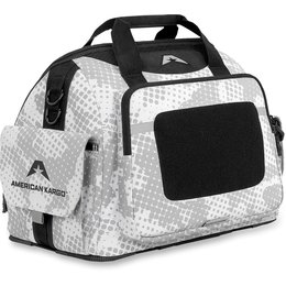Black American Kargo Track Helmet Bag Gear Bag 2014 White