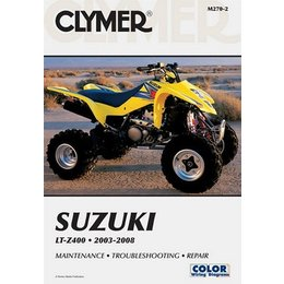 Clymer Repair Manual For Suzuki ATV LTZ400 LTZ-400 03-07