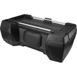Quadboss Deluxe Rear Cargo Box For ATV Black 658681 Black