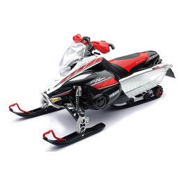 New Ray Toys 1:12 Scale Yamaha FX Nytro Snowmobile Toy Red Black 42893A Red