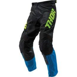 Thor Youth Boys Pulse Air Acid Pants Blue