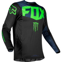 Fox Racing Mens Officially Licensed 360 Pro Circuit Jersey Black