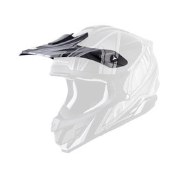 Scorpion VX-34 Sprint Replacement Visor Peak MX/Offroad Helmet Accessory Black