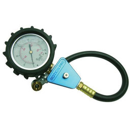 Blue Motion Pro Tire Pressure Gauge 0-60 Psi Sport Bike