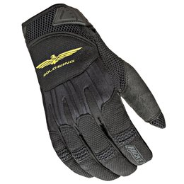 Black Joe Rocket Mens Goldwing Skyline Mesh Gloves 2014