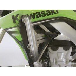 Works Connection Radiator Brace For Kawasaki KX250 05-07