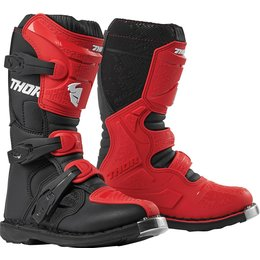 Thor Youth Boys Blitz XP Boots Red