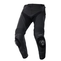 Black Alpinestars Mens Missile Leather Pants 2015 Us 34 Eu 50