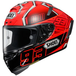 Shoei X-Fourteen X14 X-14 Marc Marquez 4 Replica Full Face Helmet Red