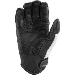 Speed & Strength Mens Power And The Glory Leather Riding Gloves White