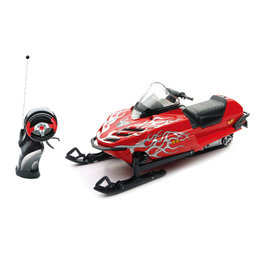 New Ray Toys 1:12 Scale Remote Control Yamaha SRX700 Snowmobile Toy Red 88003A Red