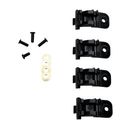 Alpinestars Mens Tech 6 Tech 10 Replacement Boot Buckle Base Set 4 Pack