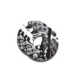 Factory Effex Grip Donuts Moto Pair Metal Mulisha White/Black Universal