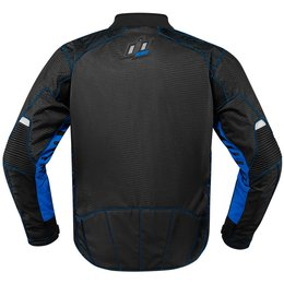 Icon Mens Wireform Armored Textile Jacket Black