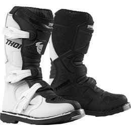 Thor Youth Boys Blitz XP Boots White