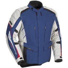 Blue Fieldsheer Mens Adventure Tour Textile Jacket 2013