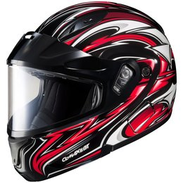 HJC CL-Max 2 Atomic Dual Pane Modular Snow Helmet With Flip Up Chin Bar Red