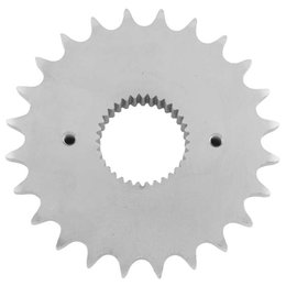 PBI Sprocket 24T Front Steel For Harley-Davidson Big Twin 284-24 Unpainted