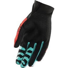 Thor Mens Void Rampant MX Gloves Red