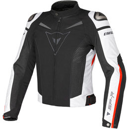 Dainese Mens Super Speed Armored Textile Jacket Black