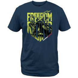 Alpinestars Mens Freedom Photo T-Shirt Blue