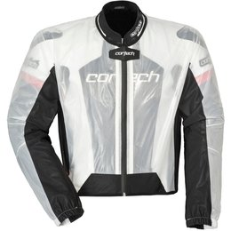 Cortech Road Race Rainsuit Jacket Transparent