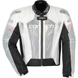 Cortech Road Race Rainsuit Jacket Transparent