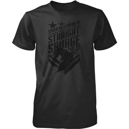Speed & Strength Mens Straight Savage Cotton T-Shirt Grey