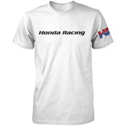 White Honda Mens Hrc Racing T-shirt 2013