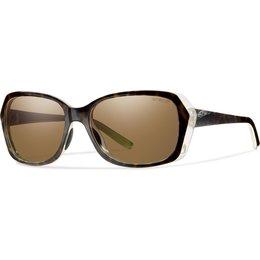 Smith Optics Womens Facet Polarized ChromaPop Sunglasses Brown