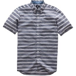 Alpinestars Mens Singular Short Sleeve Button Up Woven Shirt Grey