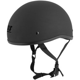Matte Black Speed & Strength Mens Ss200 Solid Speed Half Helmet 2014