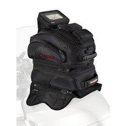 Tour Master Elite Tri-Bag Magnetic Mount Expandable Tank Bag Universal Black Black