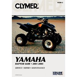 Clymer Repair Manual For Yamaha ATV Raptor 660R 01-05