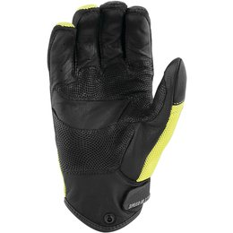 Speed & Strength Mens Power And The Glory Leather Riding Gloves Yellow