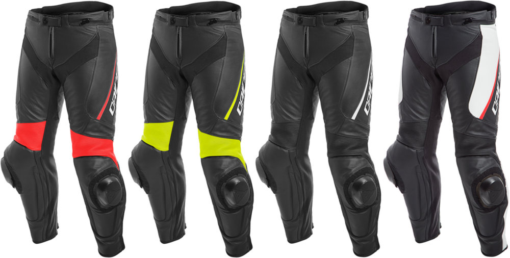 $469.95 Dainese Mens Delta 3 Armored Leather Pants #1078121