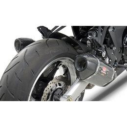 Stainless Steel Midpipes/carbon Fiber Mufflers/carbon Fiber End Caps Yoshimura R-77 Dual Slip-on Mufflers Stainless Carbon For Kawasaki Z1000 2010-13