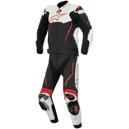Alpinestars Mens Atem 2 Piece Leather Racing Suit Black
