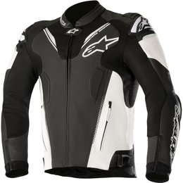 Alpinestars Mens Atem V3 Armored Leather Jacket Black